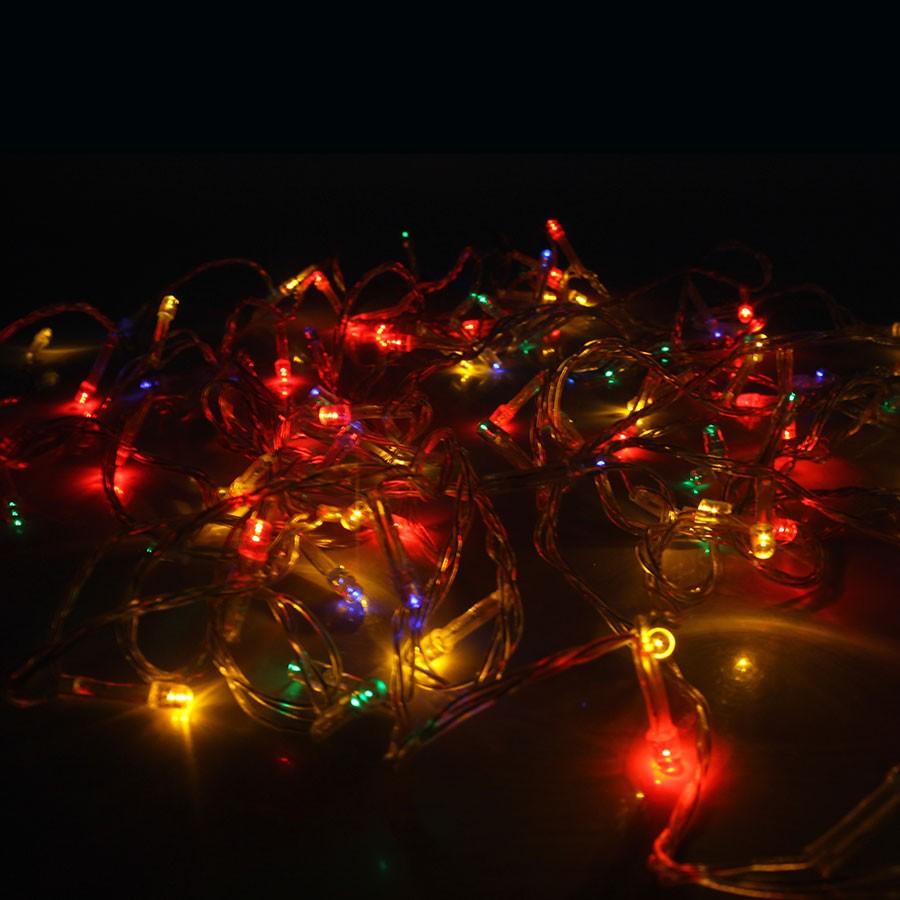 Pisca Pisca LED Colorido com Fio Transparente - 110V - Aluá Festas 5e4f195cb6