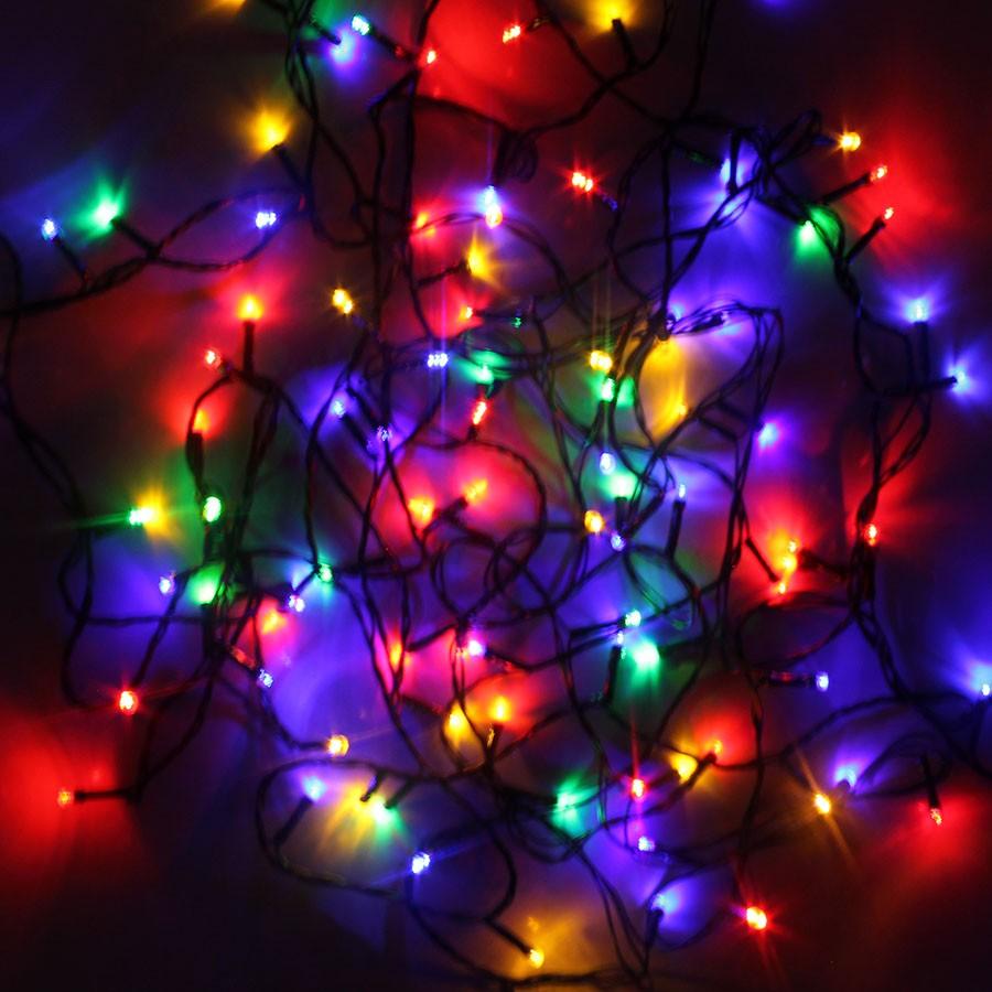 Pisca Pisca LED Colorido com Fio Verde - 110V - Aluá Festas 56bd25b6ce