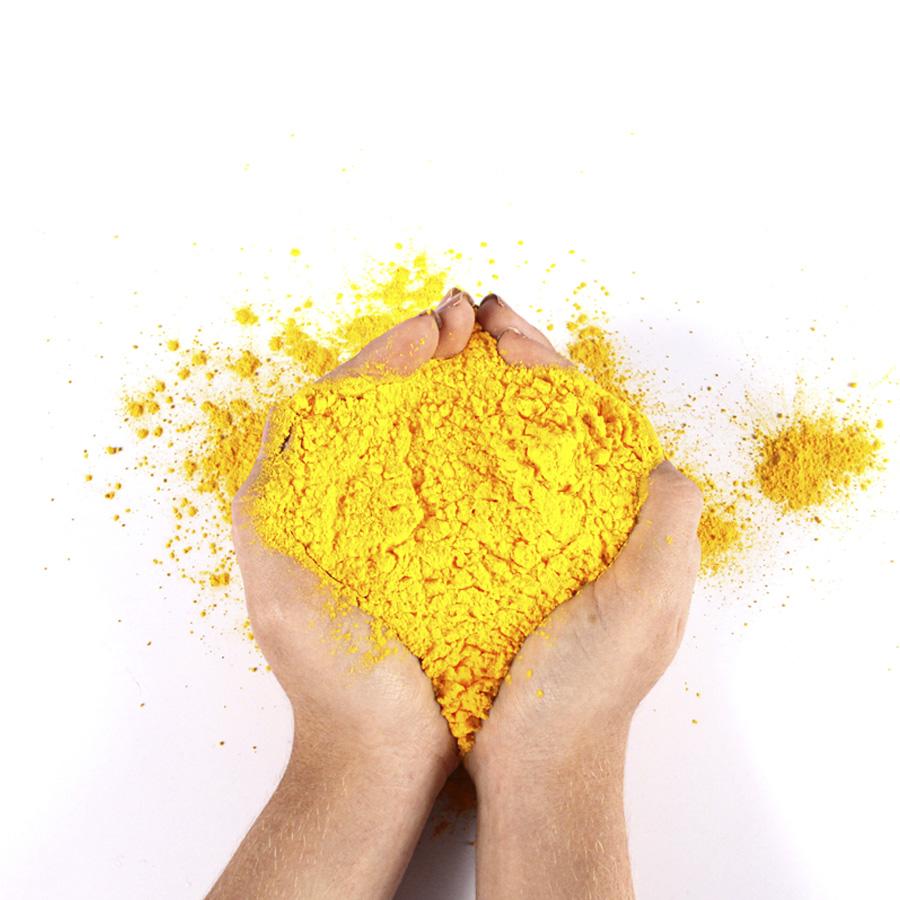 Pó Colorido Holi Amarelo 100g