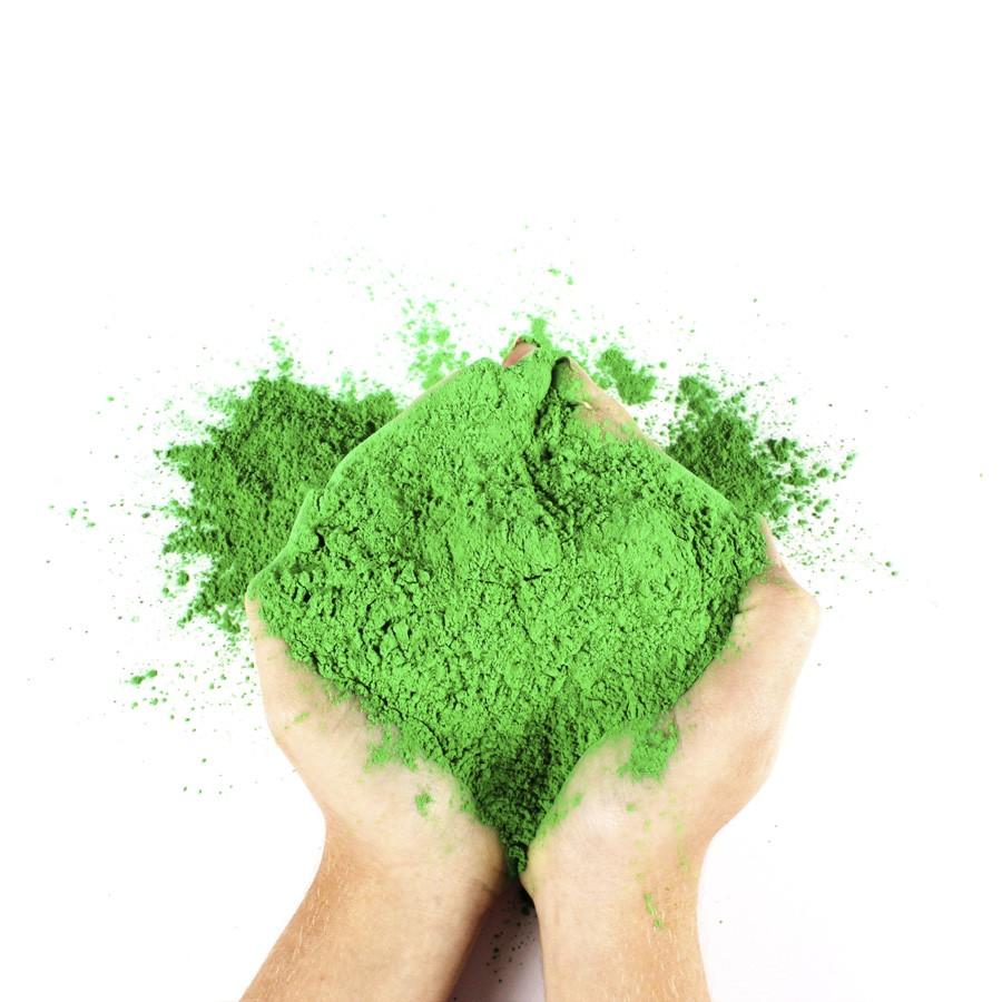 Pó Colorido Holi Verde 100g