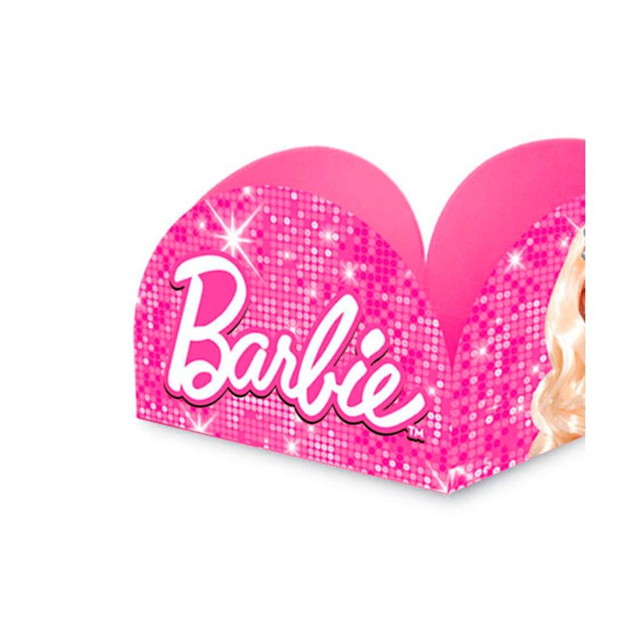 Porta Forminha Barbie 50Un