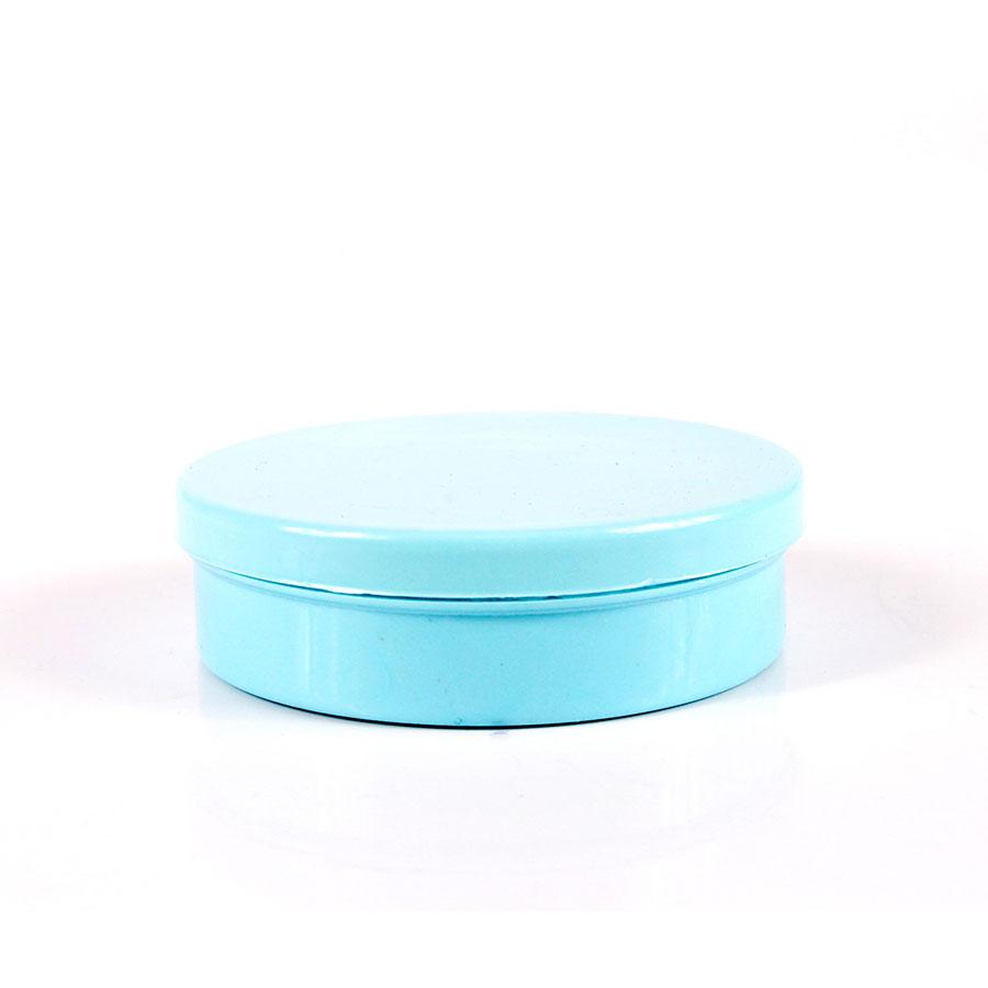 Potinho de Plástico para Personalizar Azul Claro