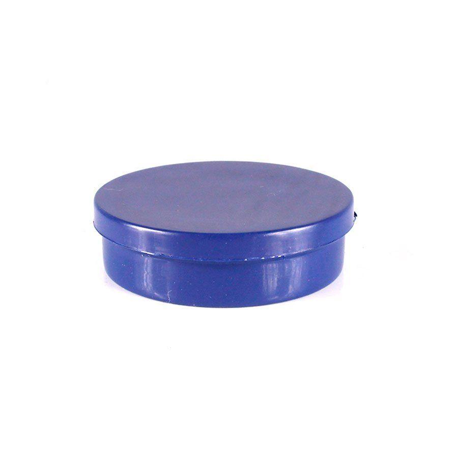 Potinho de Plástico para Personalizar Azul Escuro