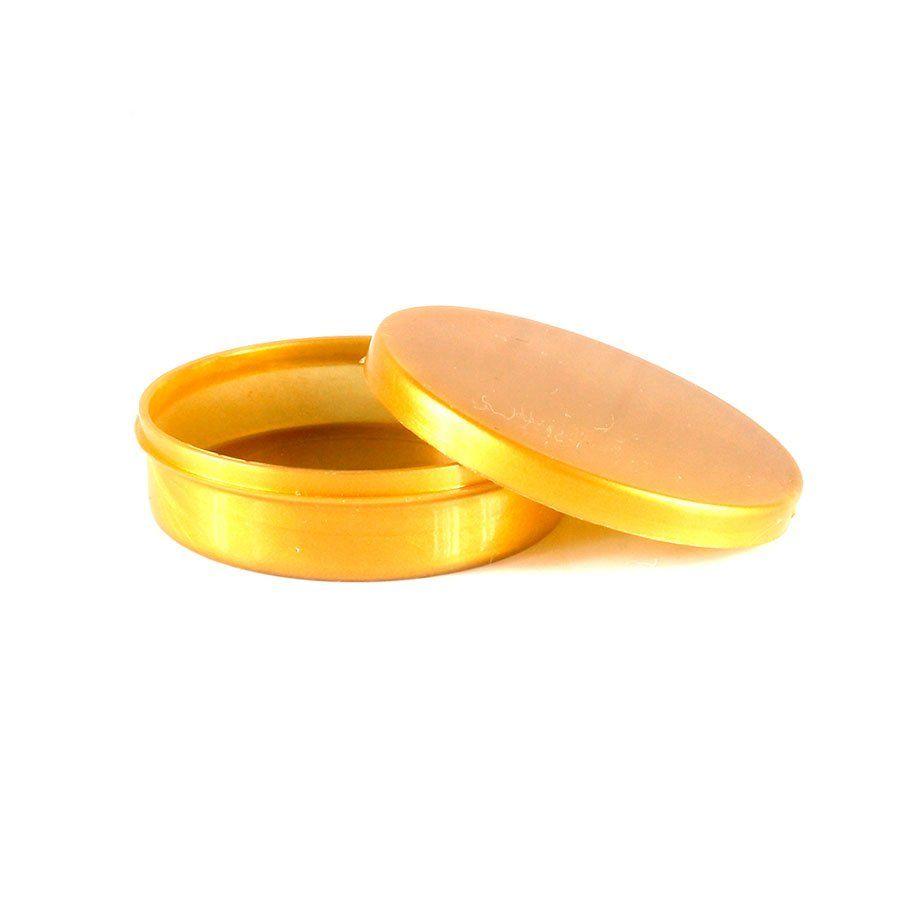 Potinho Plástico Para Personalizar Dourado
