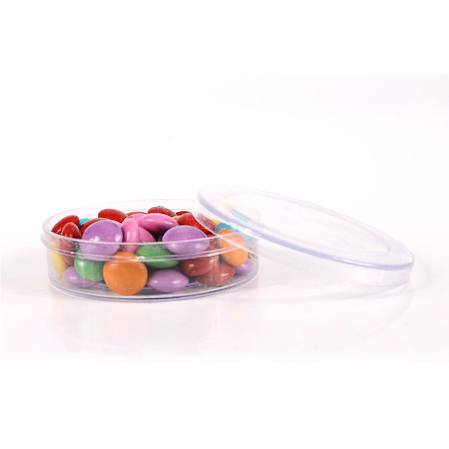 Potinho de Plástico Transparente para Personalizar Incolor