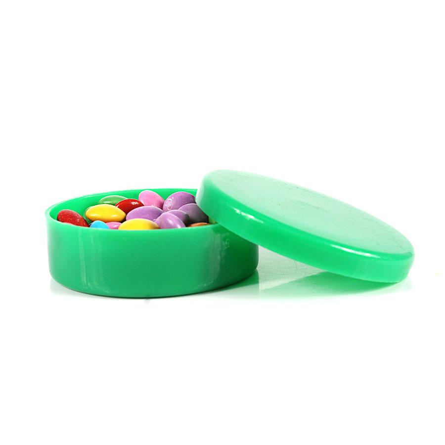 Potinho de Plástico para Personalizar Verde Claro