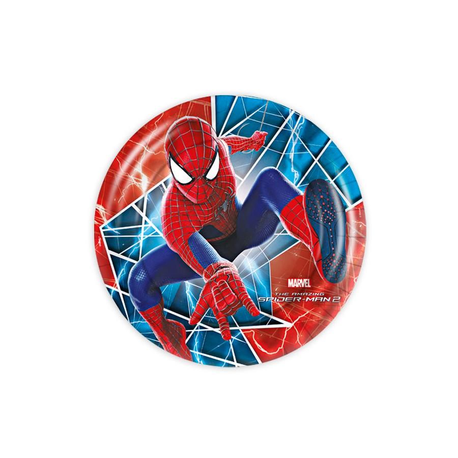 Prato Redondo 18Cm Spider 8Un