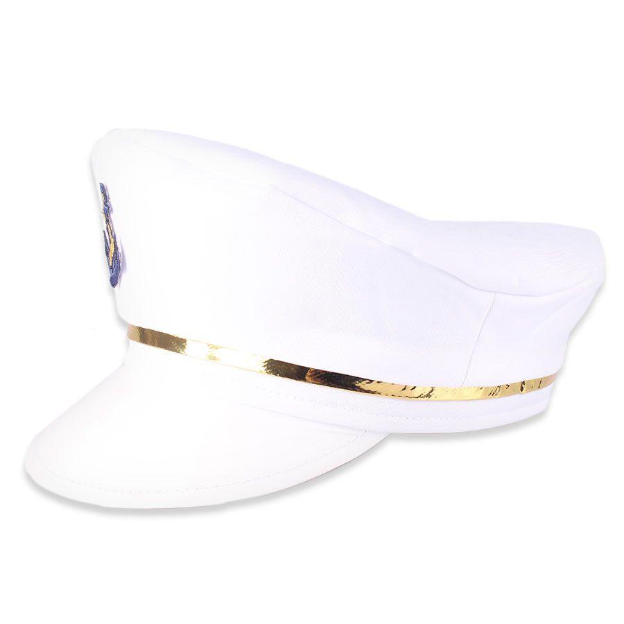 Quepe de Marinheiro com Bordado - Modelos Sortidos