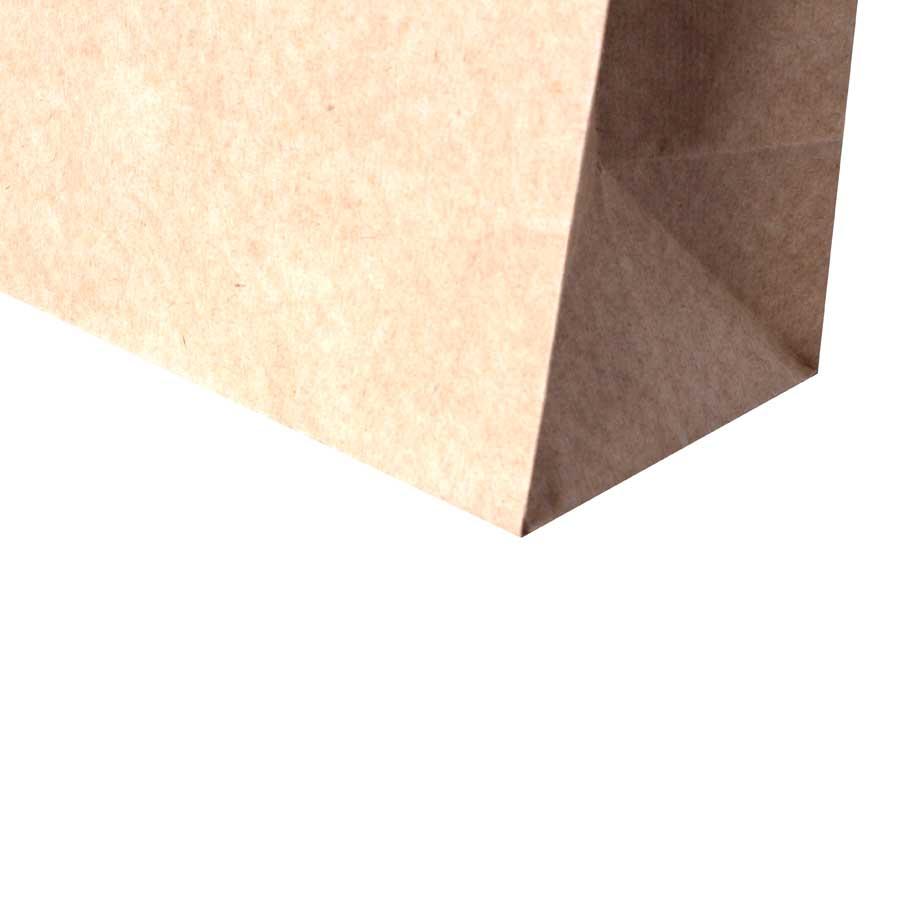 Sacola de Papel Kraft Para Personalizar 18x9x21,5cm