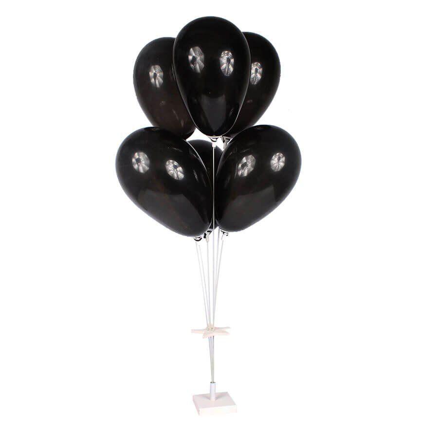 Suporte de Fibra Base Branca para Balões com 6 Hastes