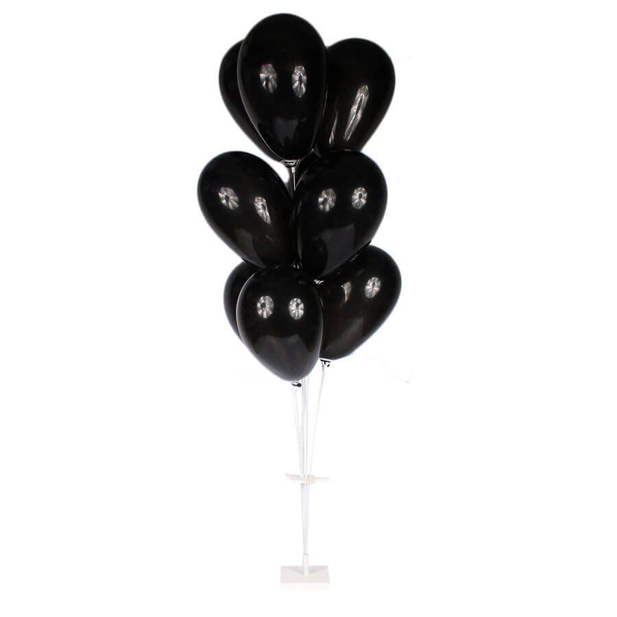 Suporte de Fibra Base Branca para Balões com 9 Hastes