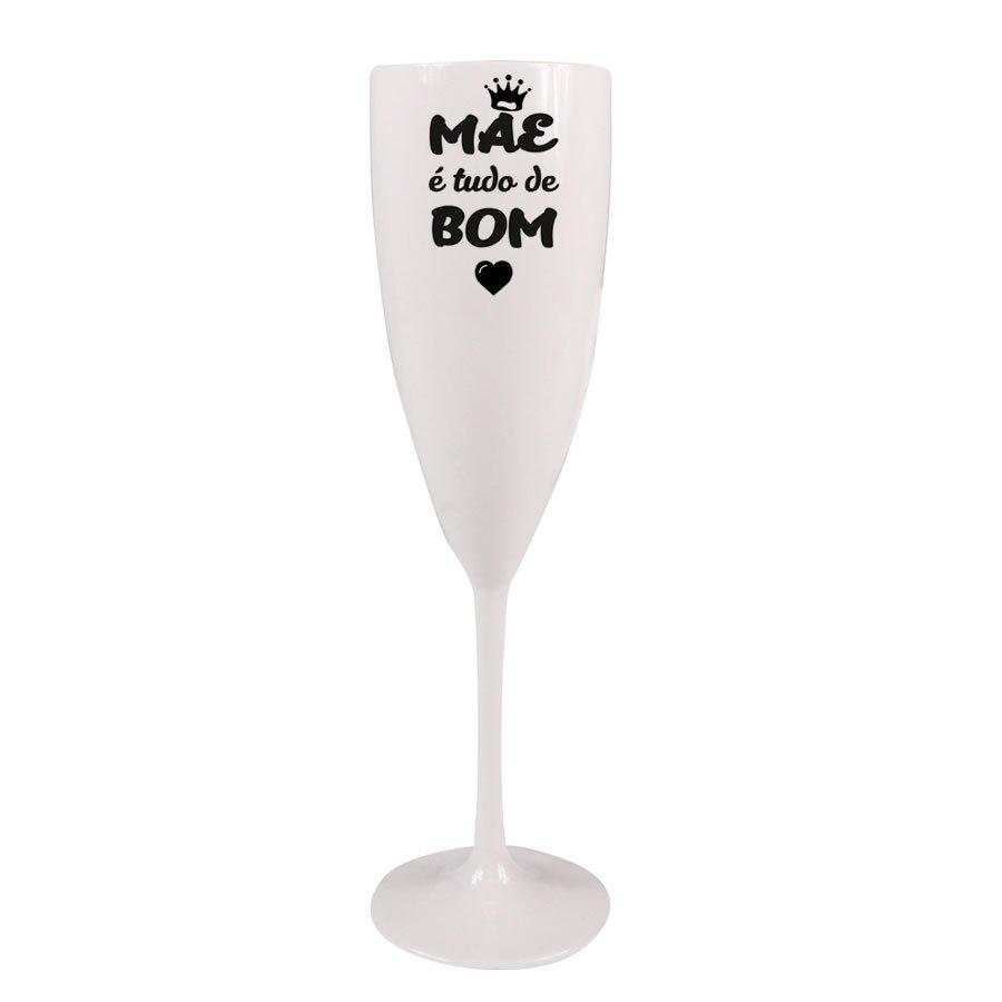 Taça Champagne Prime 170ml Mãe é Tudo de Bom