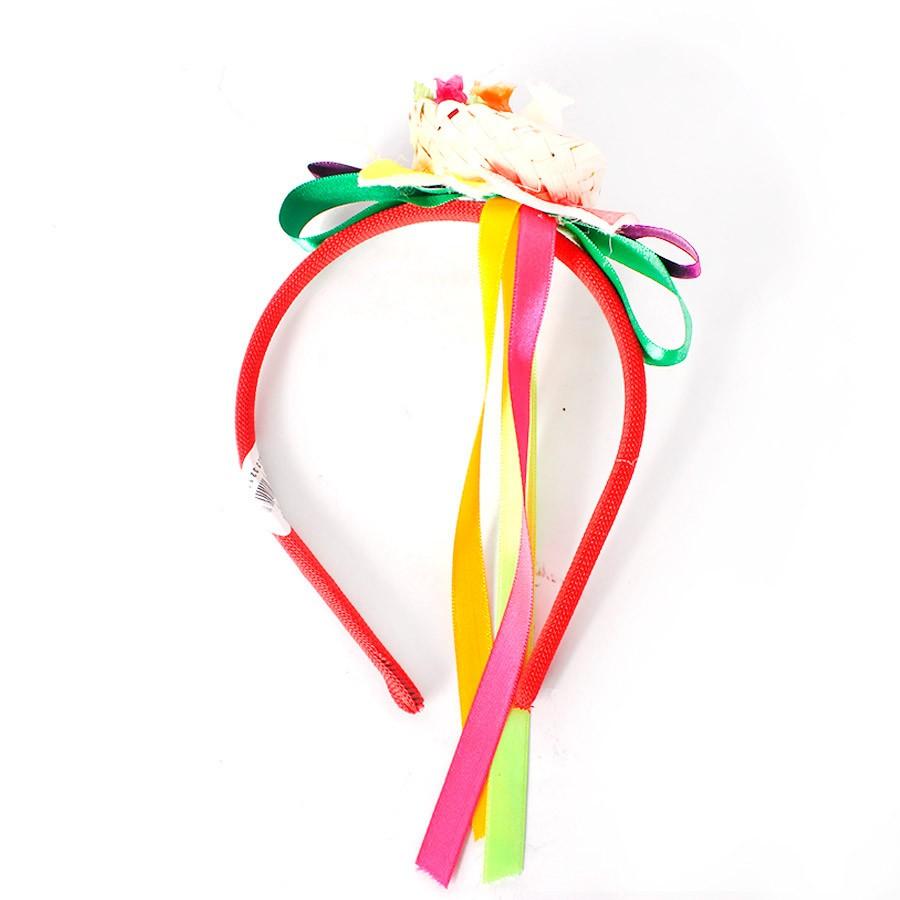 04c8bd37c76b0 Tiara Mini Chapéu de Palha Festa Junina - Aluá Festas
