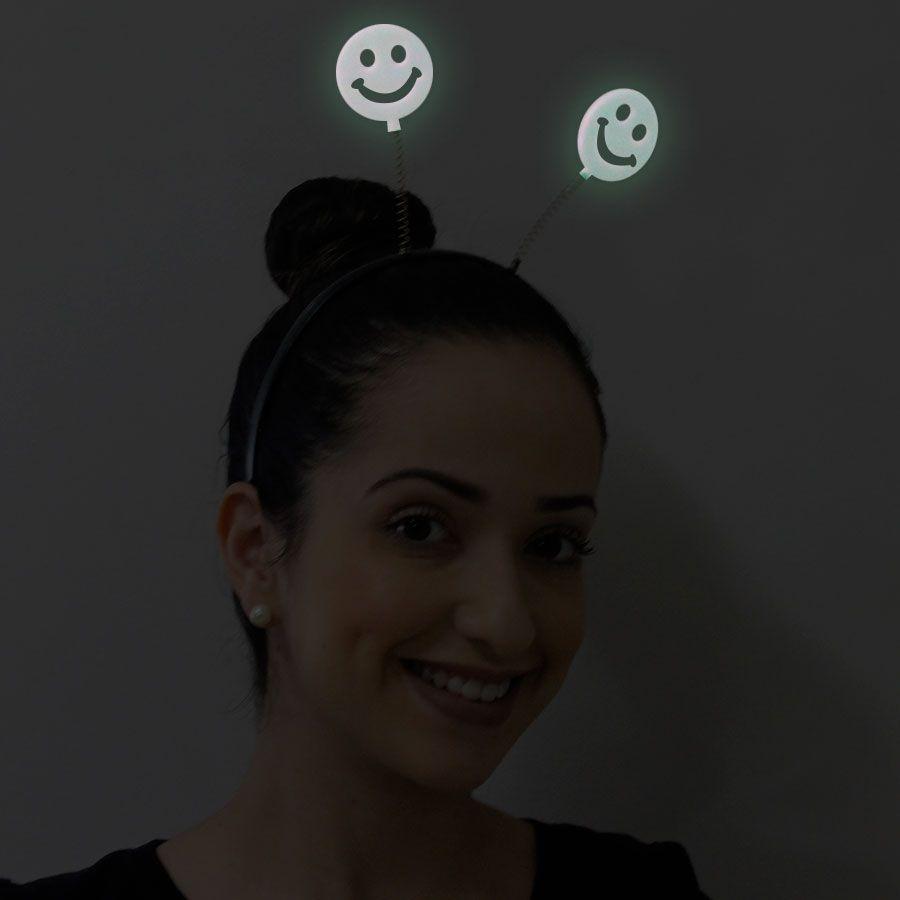 Tiara Neon Brilha no Escuro para Festa