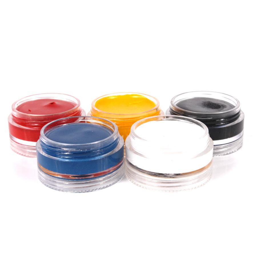 Tinta Facial Tradicional ( Com 5 Cores )