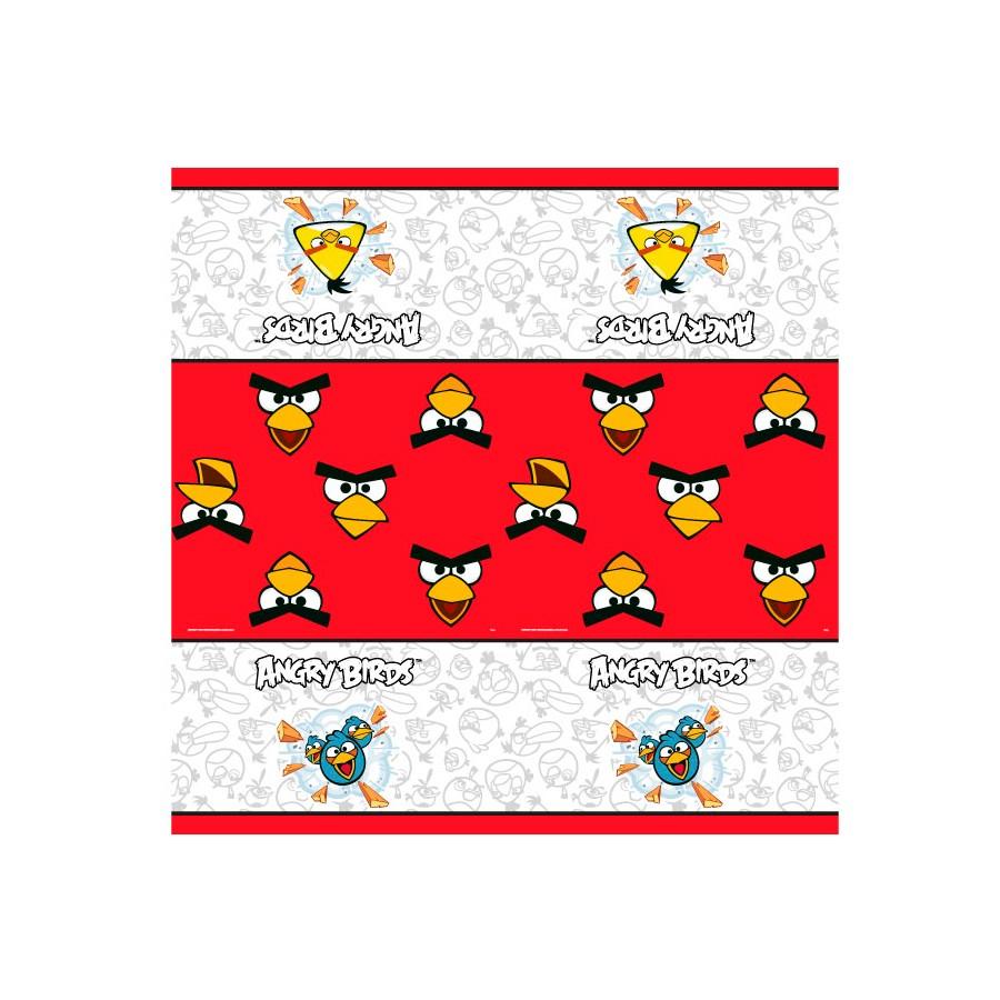 Toalha De Mesa 100X100 Angry Birds 4Un