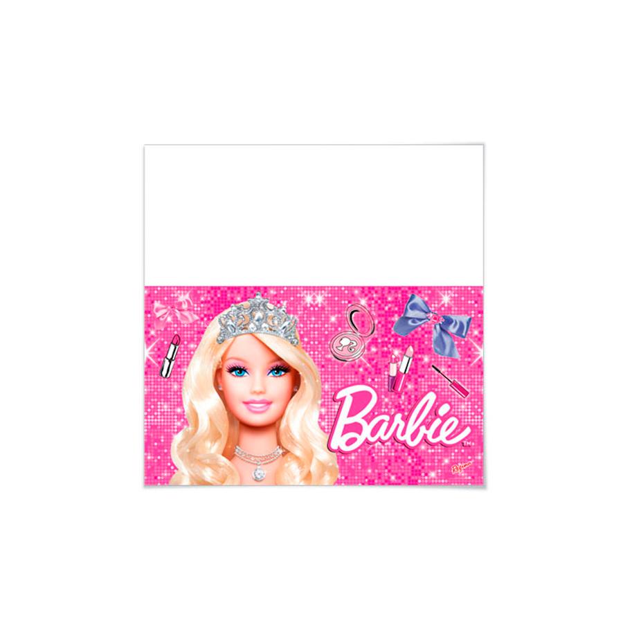 Toalha De Mesa 120X180 Barbie Un