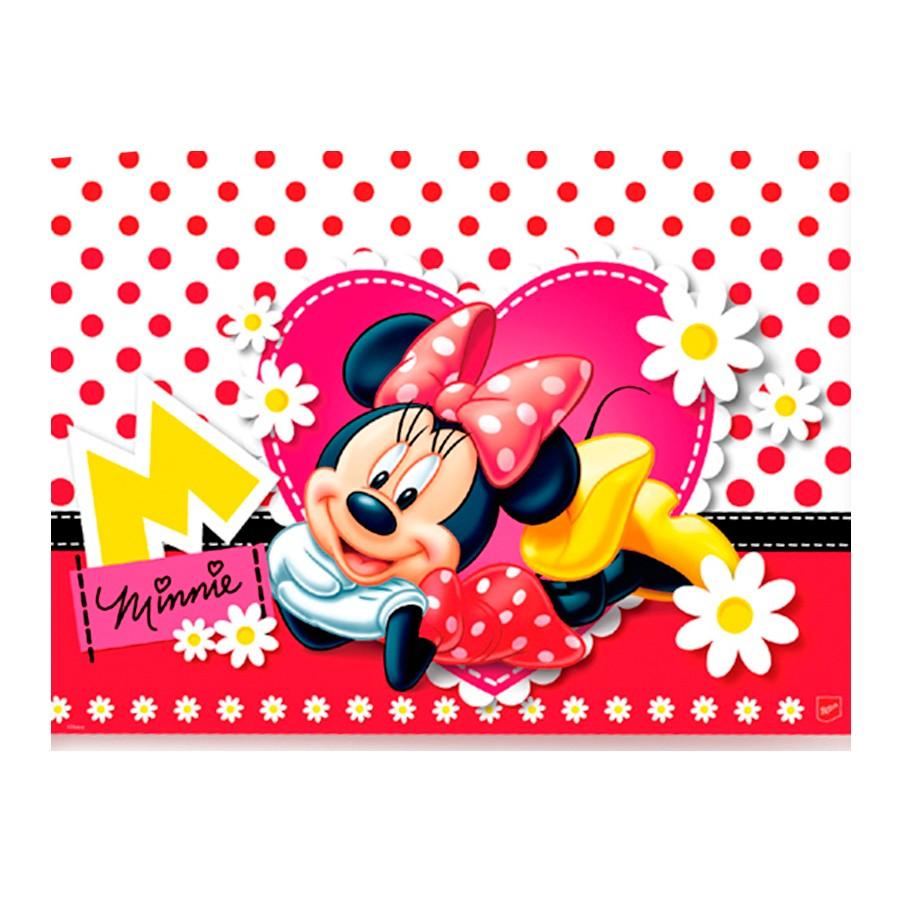 Toalha De Mesa 120X180 Minnie Un