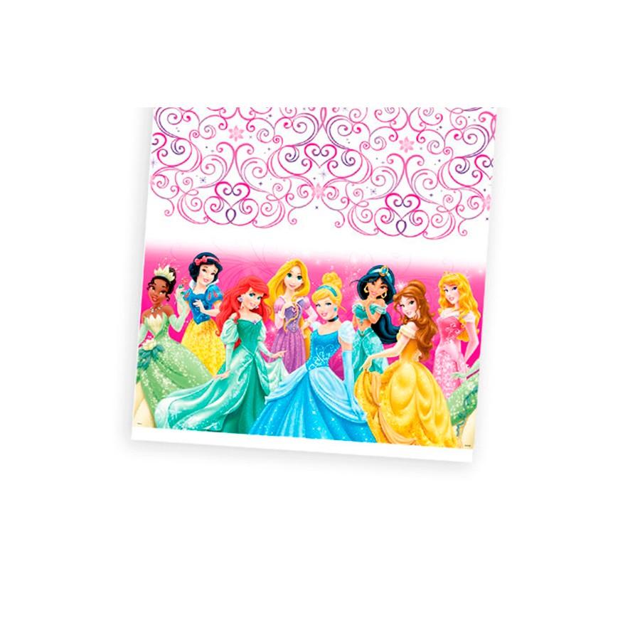 Toalha De Mesa 120X180 Princesas Un