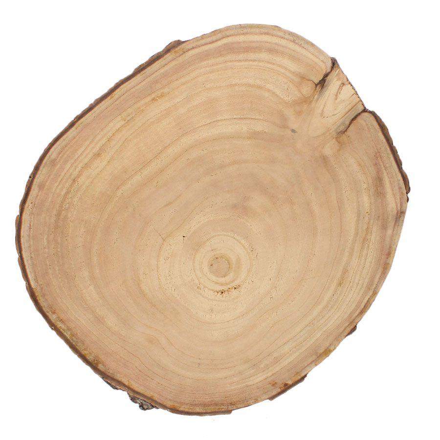 Tora de Madeira Rústica para Decoração Natural