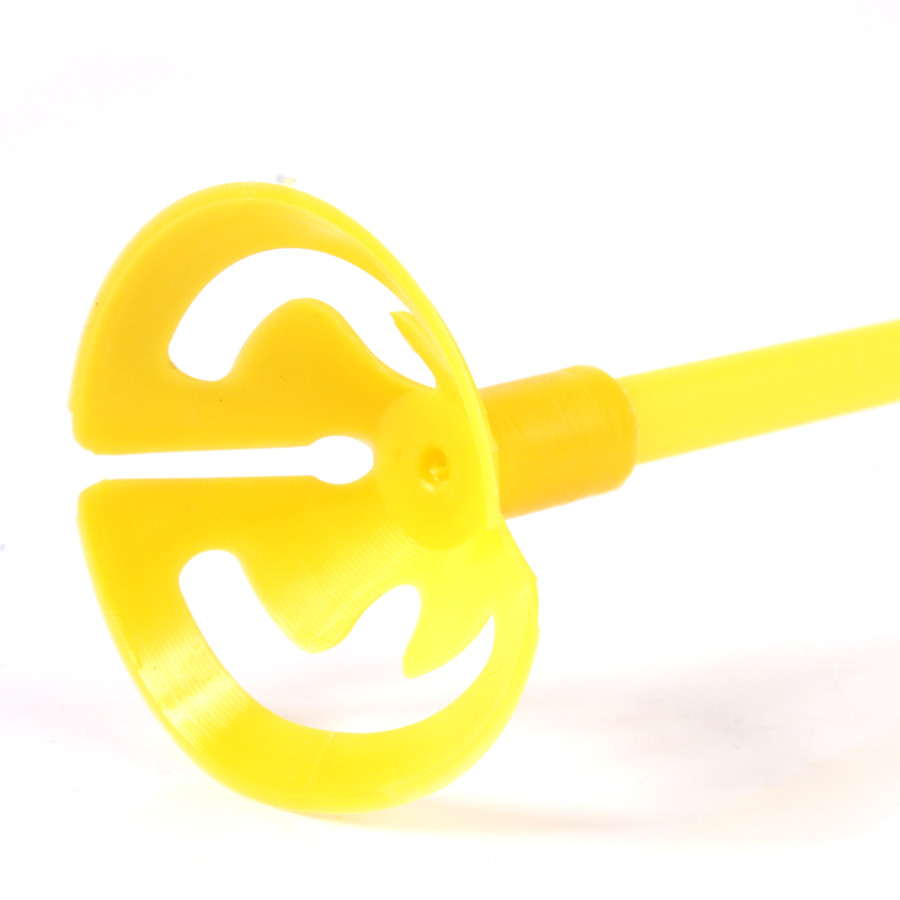 Vareta Pega Balão Amarela 10Un