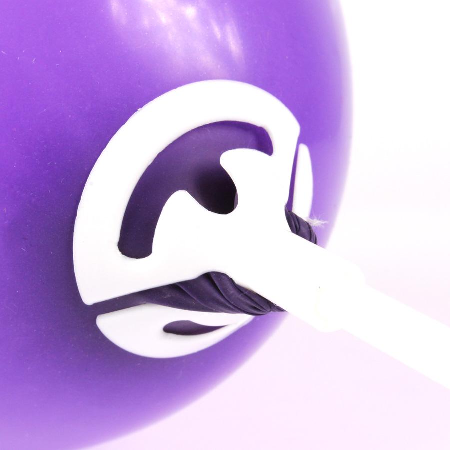 Vareta Pega Balão Branca 10 Unidades