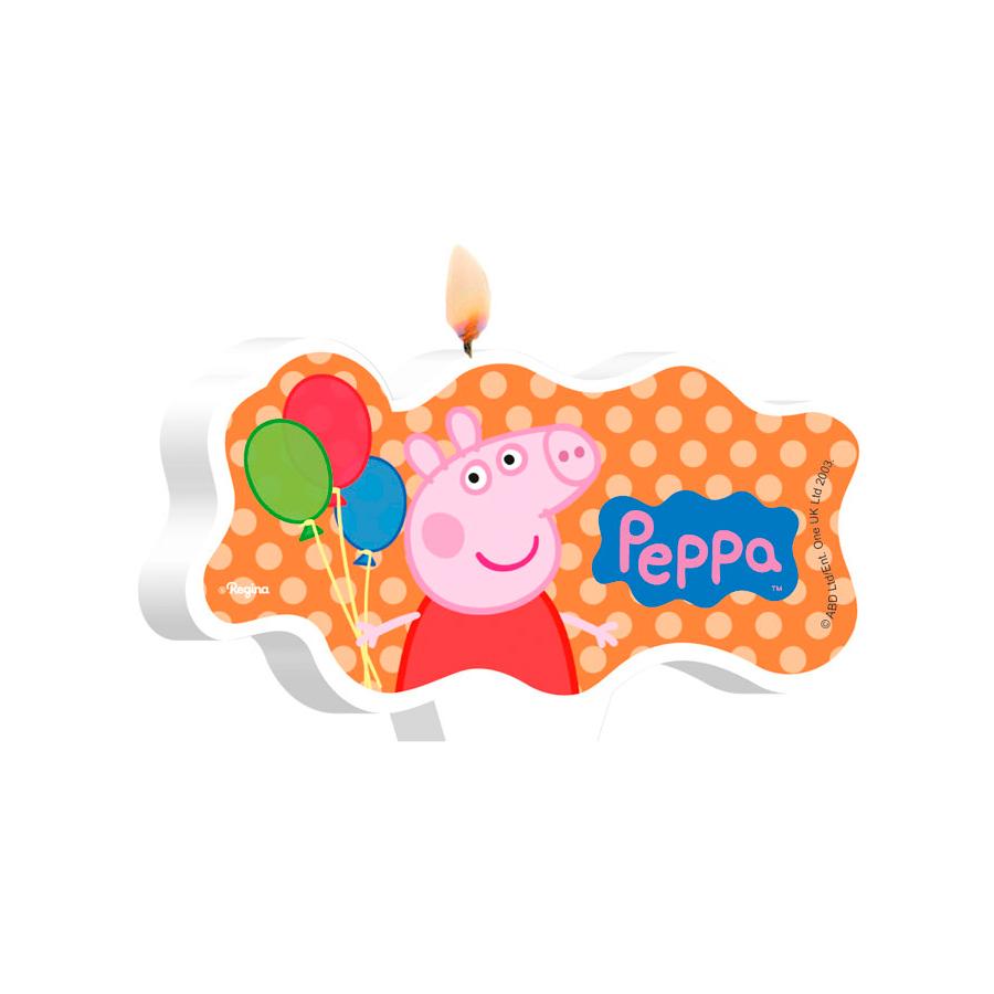 Vela Peppa Pig 4Un