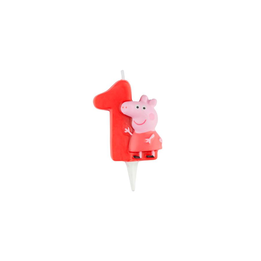 Vela 3D Peppa Pig nº1