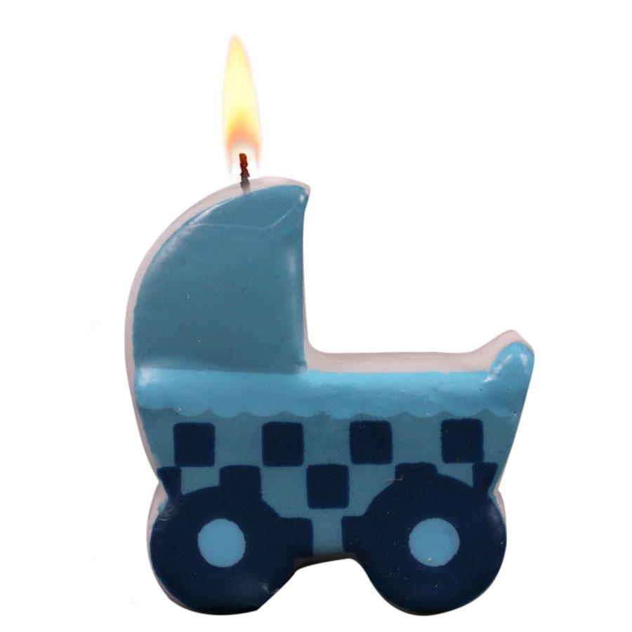 Vela Chá De Bebê Azul