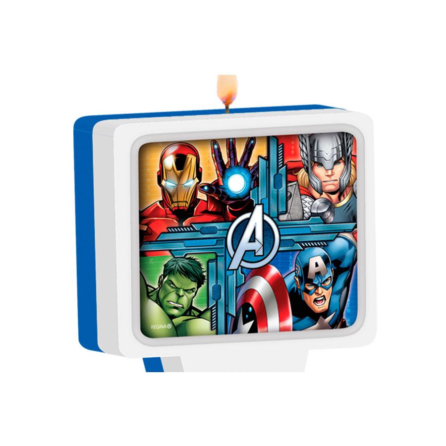 Vela Vingadores Avengers Un