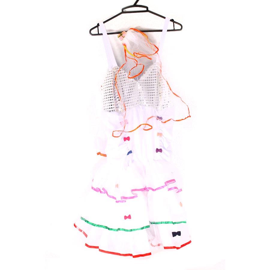 6ca55f717d367 Vestido Caipira Adulto com Tiara Véu - Modelos Sortidos - Aluá Festas