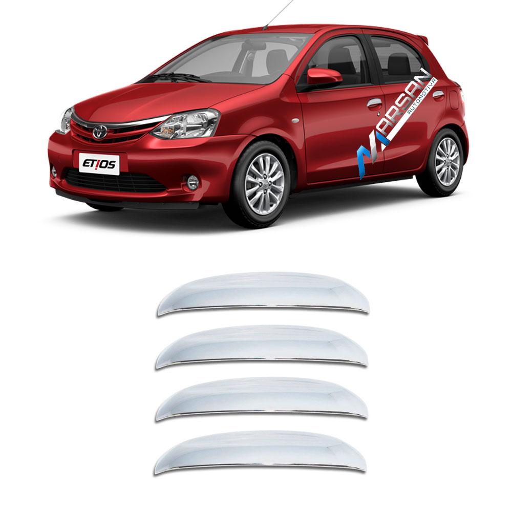 Aplique Cromado Maçaneta Toyota Etios 2013 2014