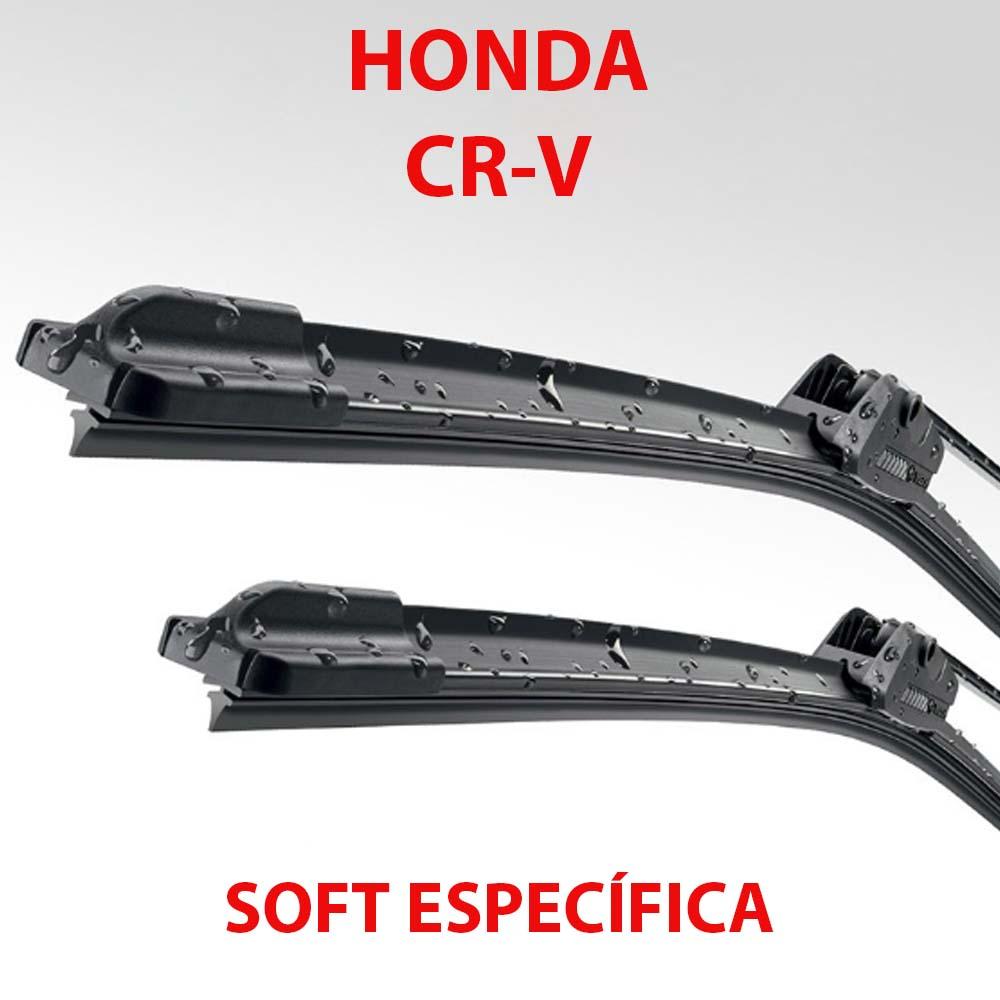 Palheta Soft Limpador Parabrisa CRV 2007 2008 2009 2010 2011 2012 - PAR