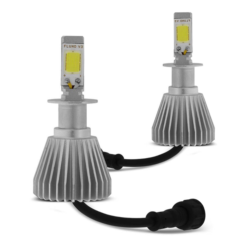 Kit Lampada Led 6K P/ Farol Milha Astra Hatch Sedan Tp Xenon