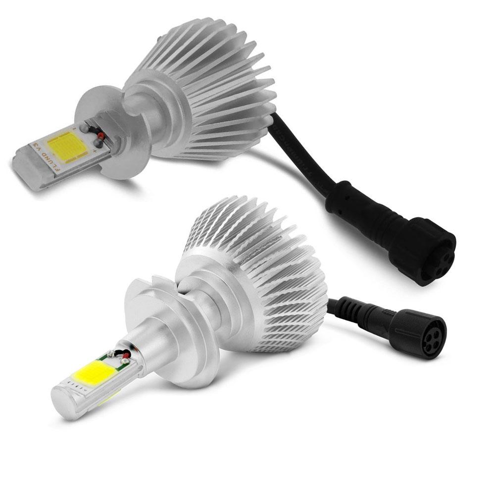 Kit Lampada Led 6000k Para Farol Baixo+Milha Astra Tp Xenon