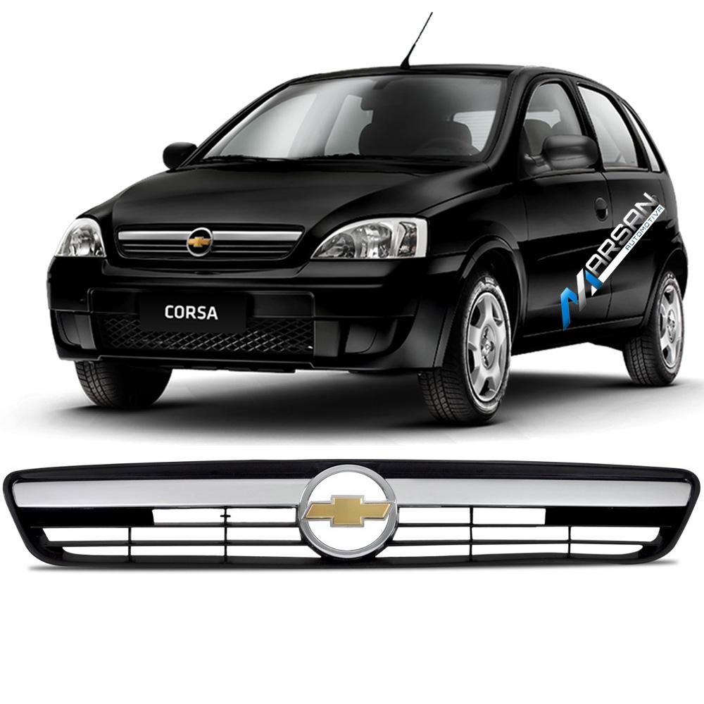 Grade Preta Corsa Hatch Sedan - Montana 2002 até 2012