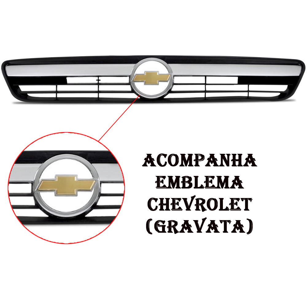 Grade Cinza Corsa Hatch Sedan - Montana 2008 2009 2010 2011 2012