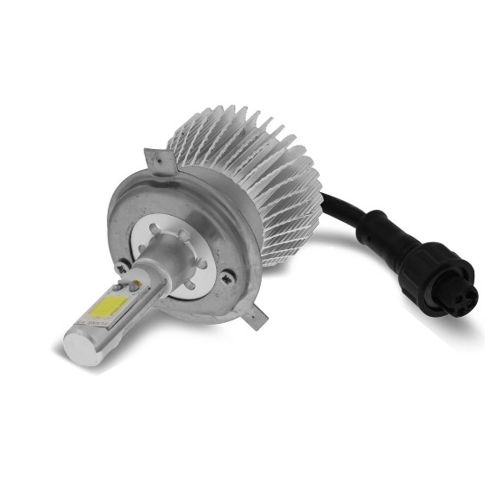 Kit Lampada Led 6k P/ Farol Alto+Baixo L200 Triton Tp Xenon