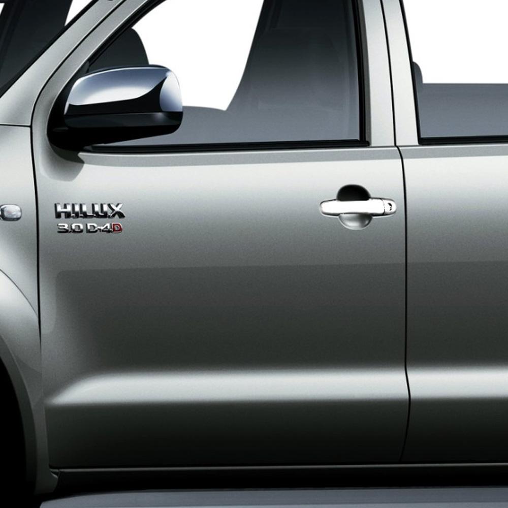 Aplique Cromado Maçaneta Externa Corolla 2003 a 2013 Fielder 2004 a 2008 Hilux 2005 a 2012