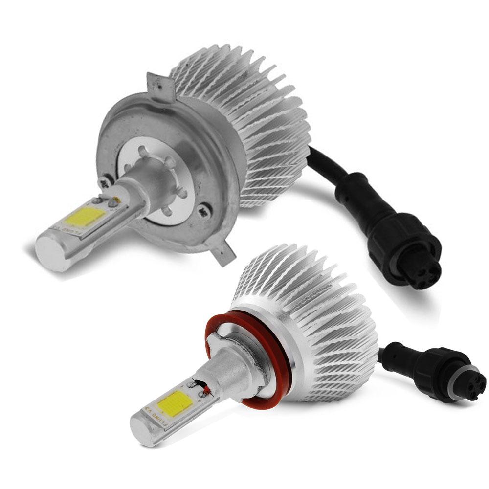 Kit Lampada Led Farol Alto+Baixo+Milha HB20s Sedan Tp Xenon