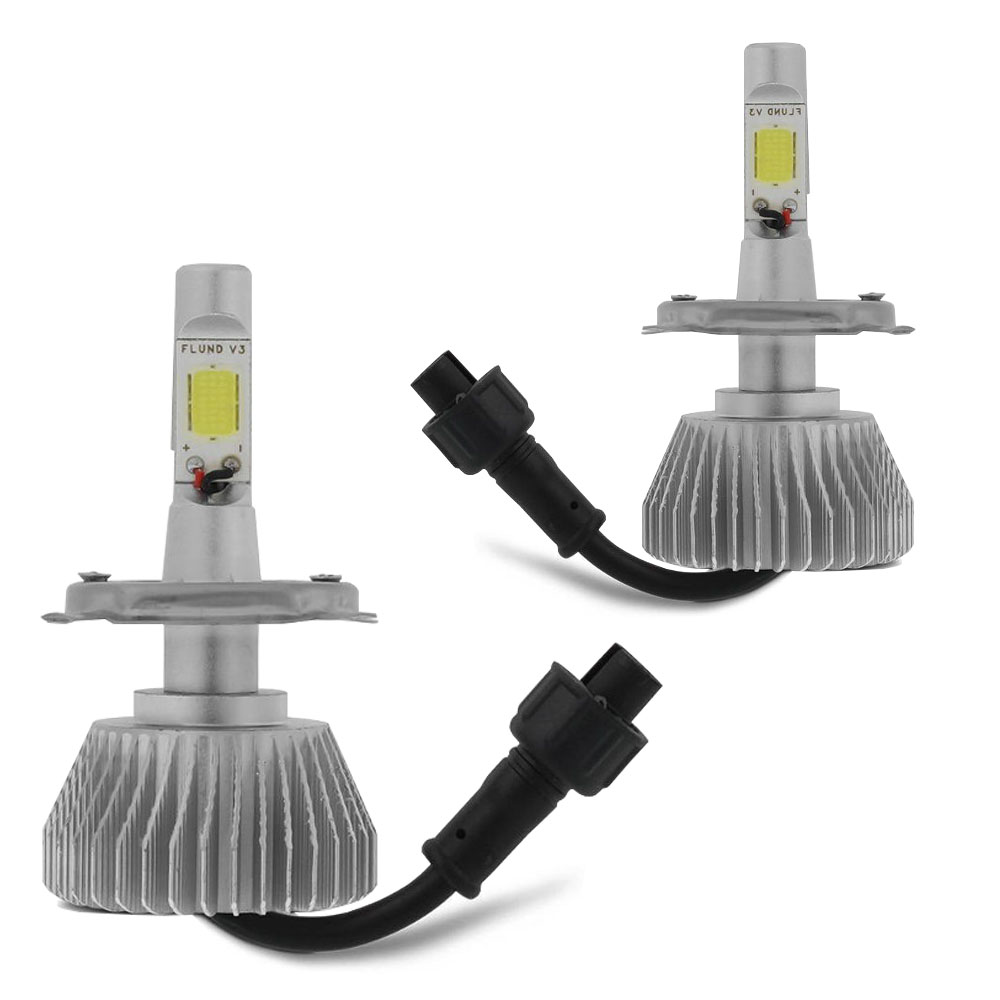 Kit Lampada Led 6000k Farol Alto+Baixo HB20s Sedan Tp Xenon