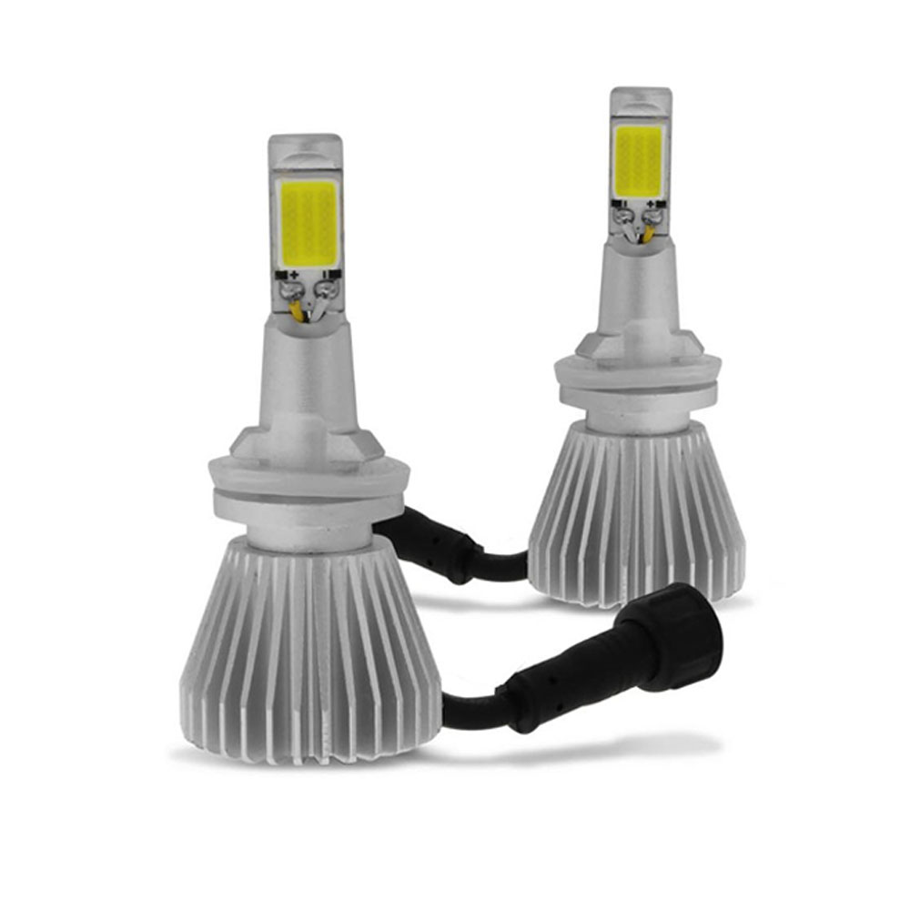 Kit Lampada Led 6000k P/ Farol Milha Onix Joy LT LTZ - Xenon