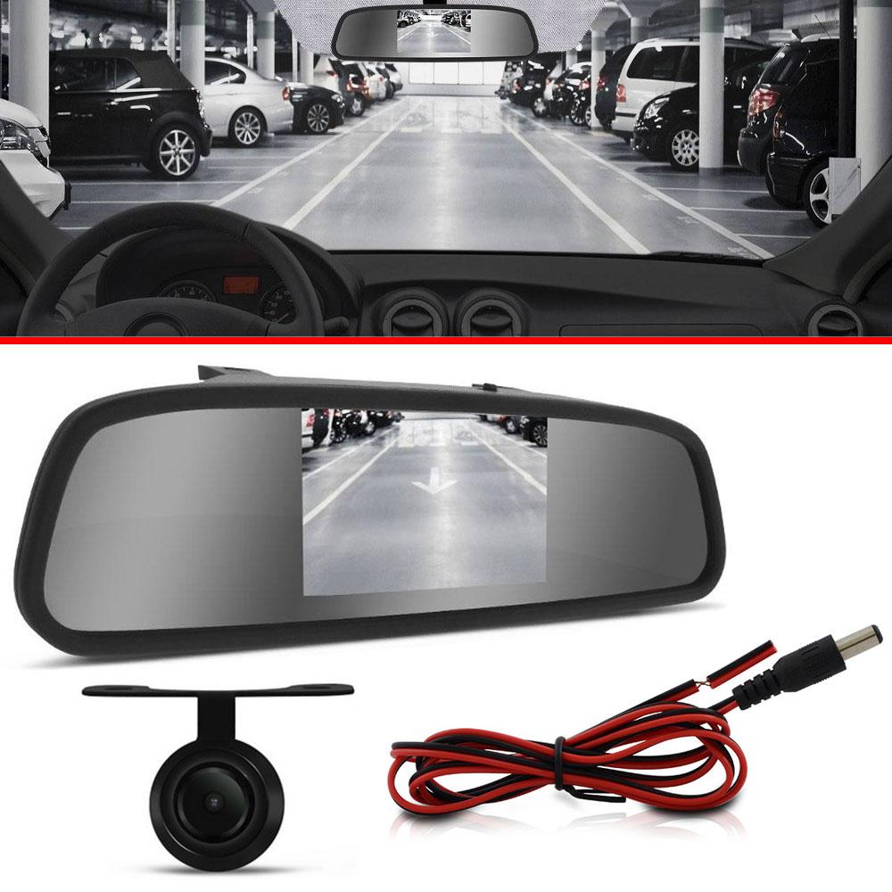 Espelho Retrovisor Interno + Câmera De Ré Toyota Corolla