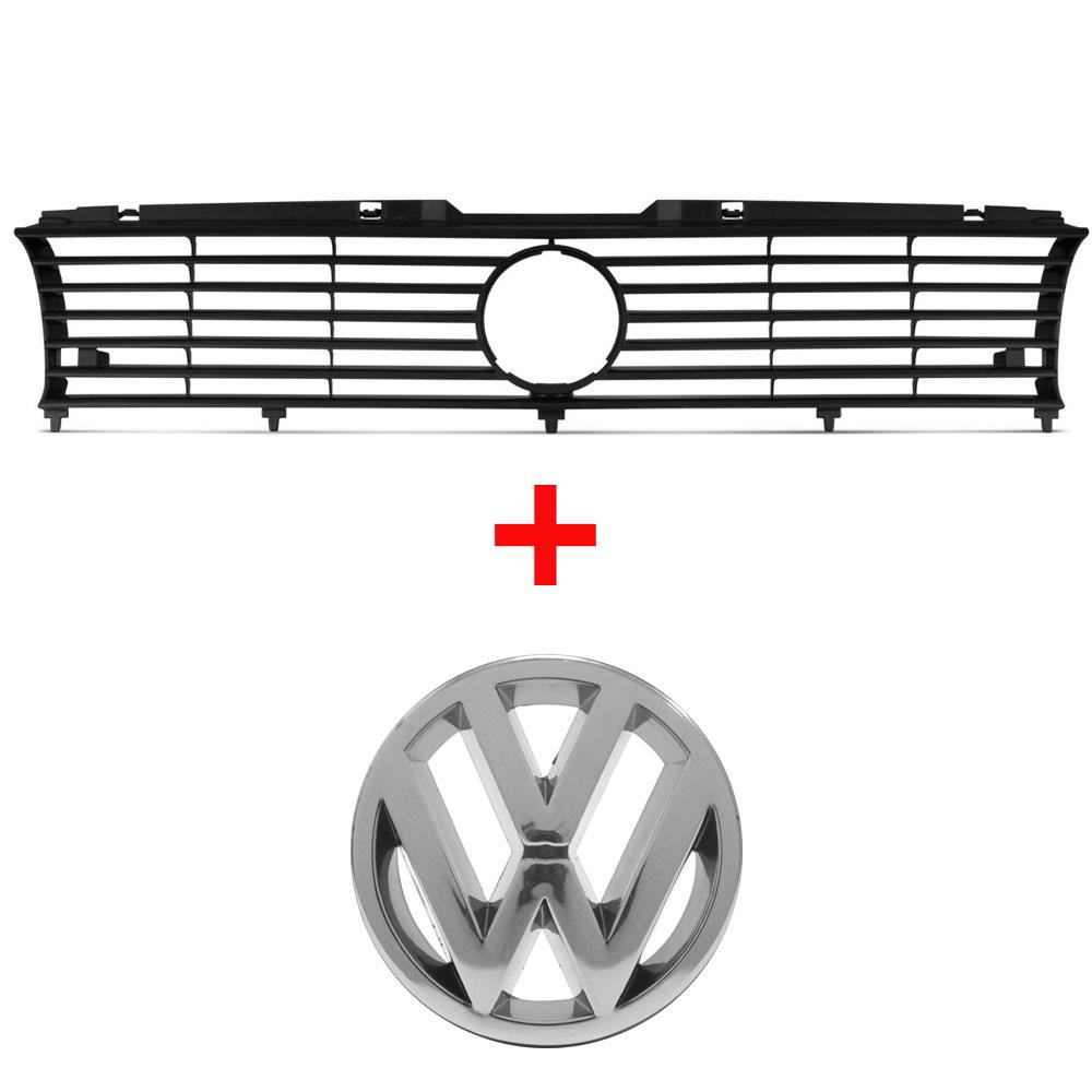 Grade + Emblema Gol Parati Saveiro Quadrado 91 92 93 94 1995