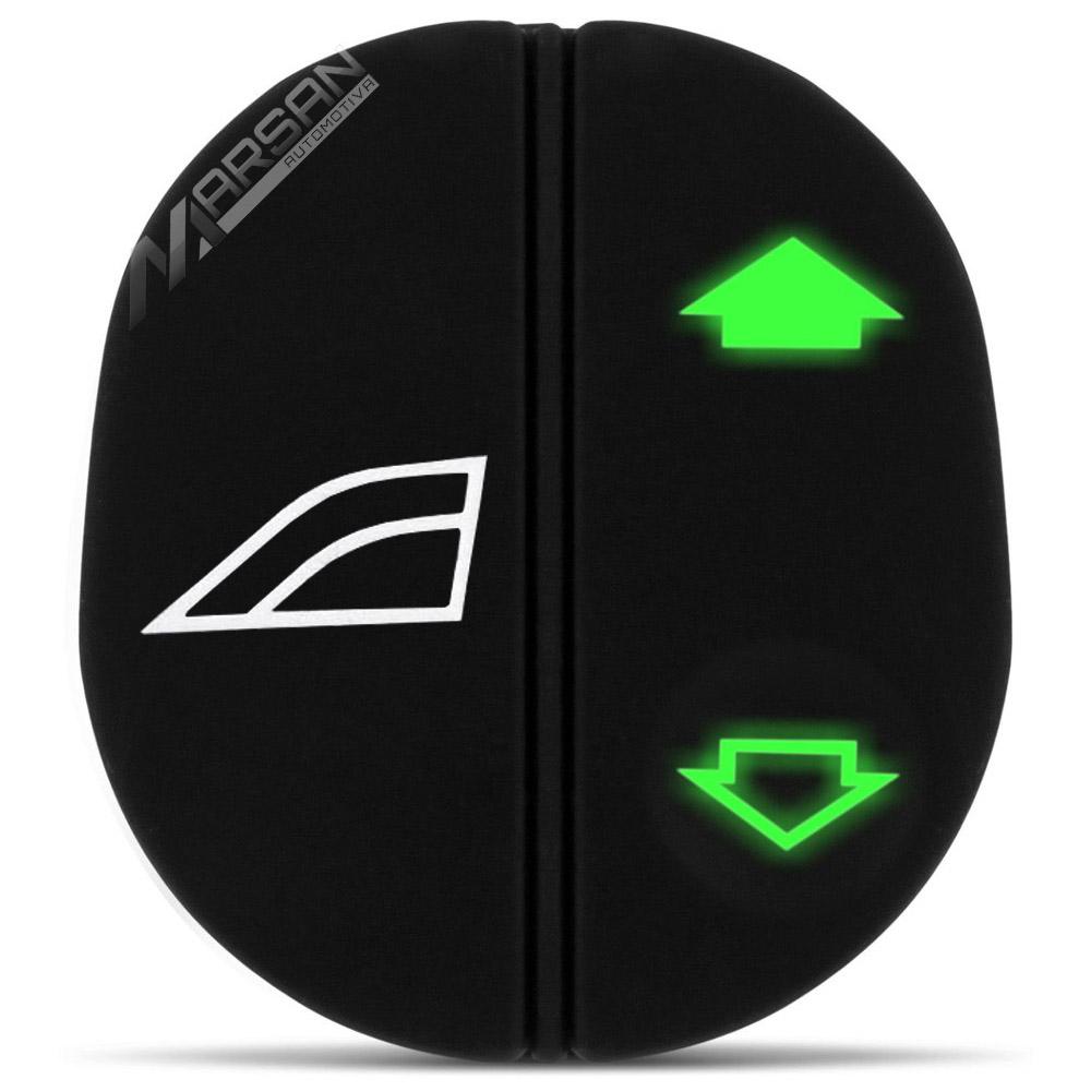 Interruptor Simples Vidro Eletrico Ka Fiesta 97 a 07 Courier