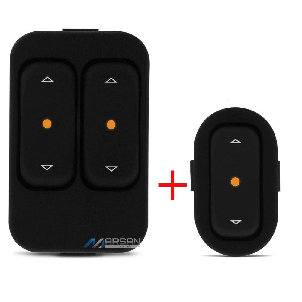 Kit Interruptor Vidro Eletrico Astra Celta Corsa Montana Meriva Zafira