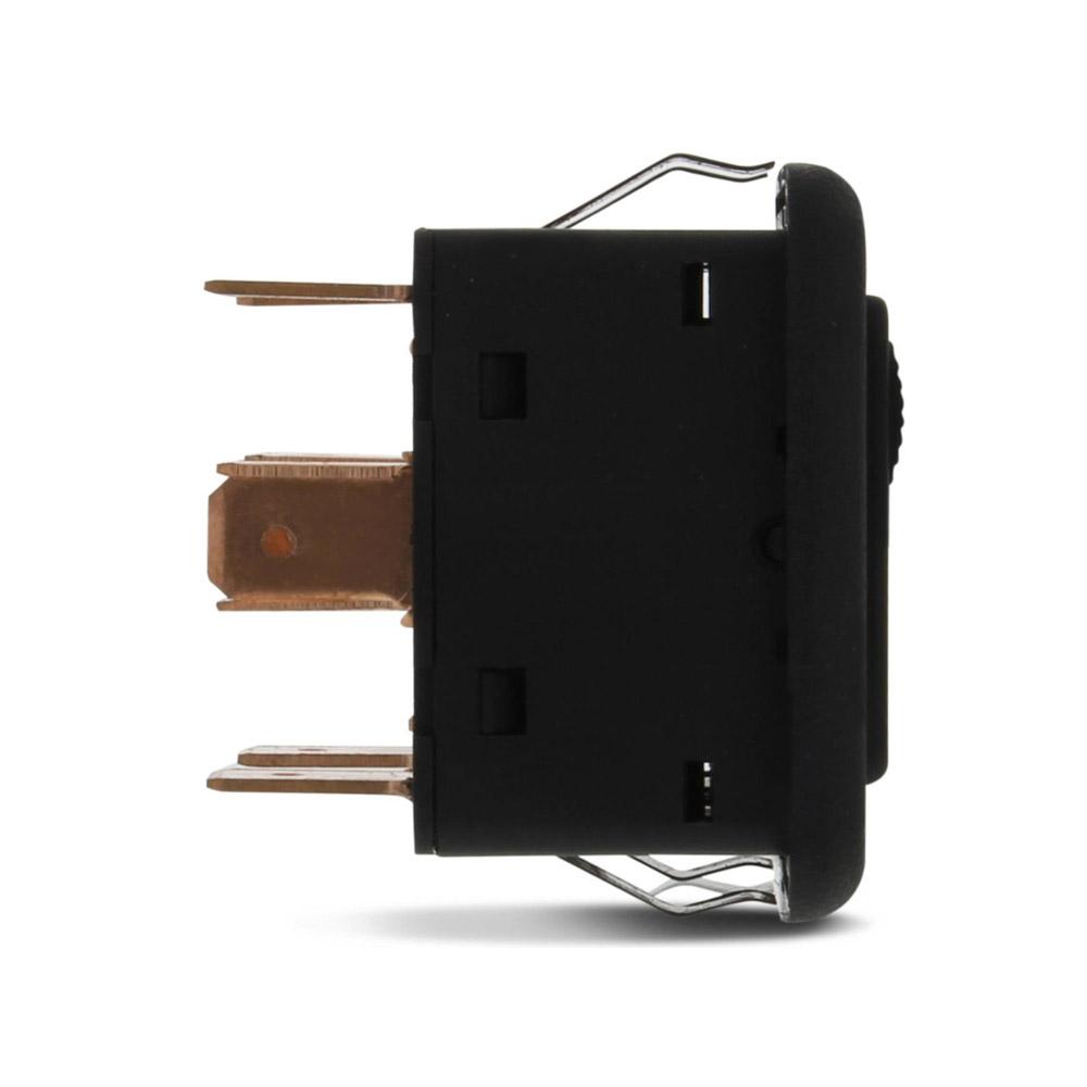 Botão Interruptor Duplo Ambar Vidro Eletrico Santana 1986 até 1997
