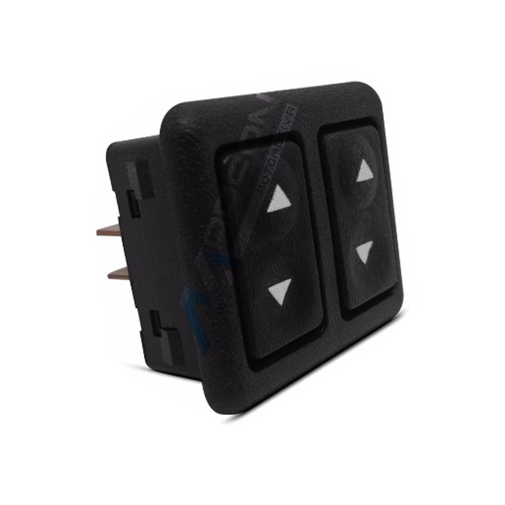 Botão Interruptor Duplo Vidro Eletrico Escort Verona Apollo