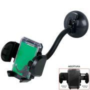 Suporte Celular Iphone - Samsung Galaxy - Motorola - Sony - GPS Para Carro