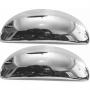 Aplique Cromado Maçaneta Externa Peugeot 206 2000 a 2010 Peugeot 207 2009 a 2015